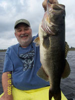 St Johns River Bass - January 2009