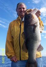February Client of Eddie Bussard and Bass Challenger Guide Service