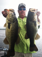 Client of Eddie Bussard fishing on the St Johns River System