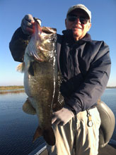 Fishing with Eddie Bussard of Bass Challenger Guide Service