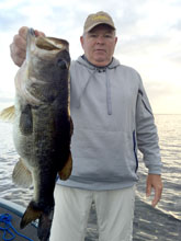 Big bass found on the St Johns River