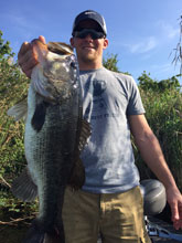Fishing with Eddie Bussard on the St Johns River System in Florida