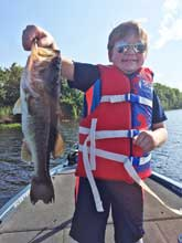 Family fun with Eddie Bussard fishing the St Johns river system