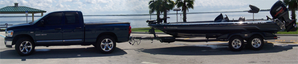 Eddie Bussard's Boat and Truck