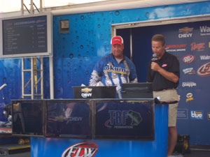 Eddie Bussard at the 2012 FLW All American Championship