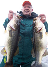 Clay Williams, client of Bass Challenger Guide Service