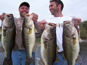 Happy Customers of Bass Challenger Guide Service